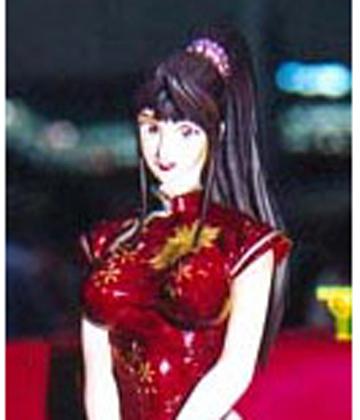 Yuki Shihoudou Sexy Pose