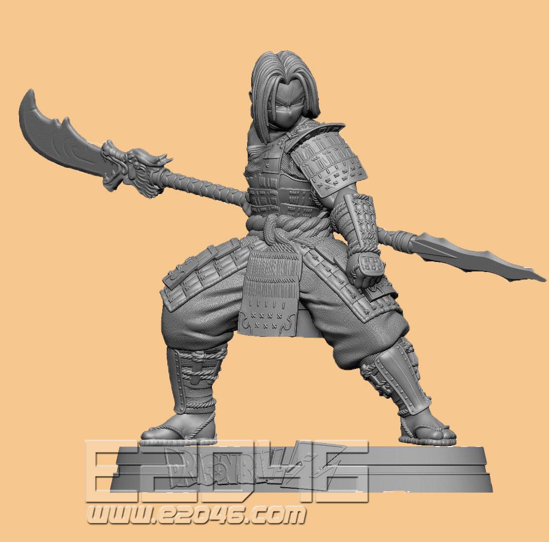 Trunks Samurai Version