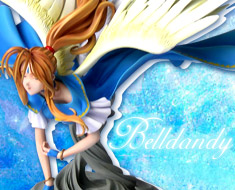 FG3783 1/5 Belldandy Over Water