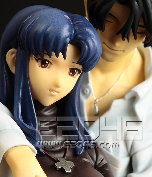 Misato and Kaji