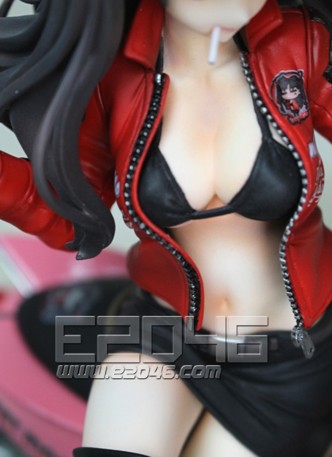 Rin Tohsaka with Motorcycle