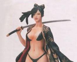 FG12150 1/9 Female Samurai