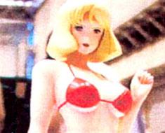 FG2103 1/5 Sayla Mass Red Bikini
