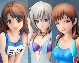 FG10073 1/12 The Idolmaster Swimsuit Version Set