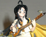 FG1179 1/8 Skuld with Guitar on Bough