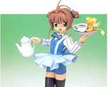 FG1092 1/8 Sakura Kinomoto Vol 8 Waitress Suit