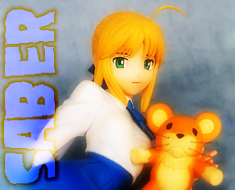 FG3337 1/6 Saber with Teddy Bear