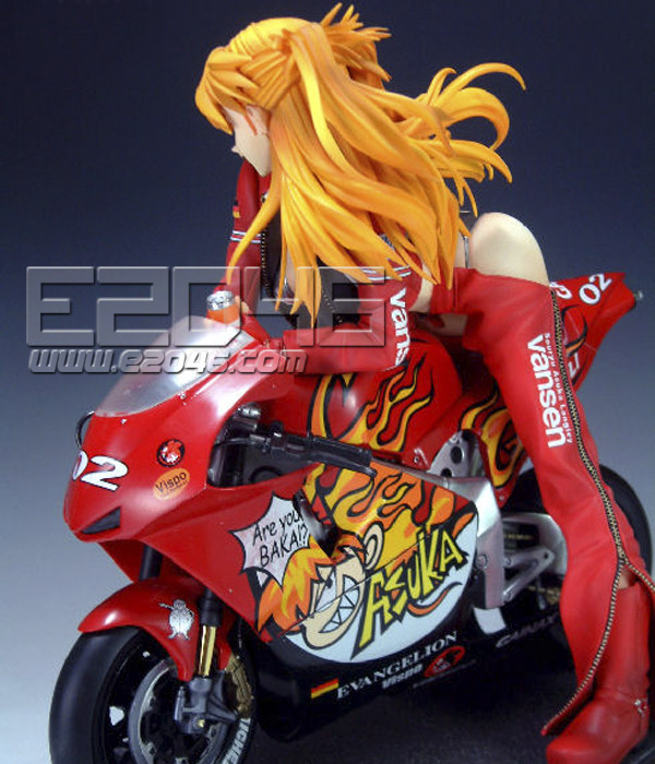Asuka with Motorcycle 2