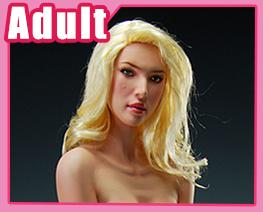 FG3916 1/6 金髮裸女坐姿