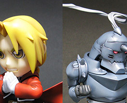 FG6575  SD Edward Elric and Alphonse Elric