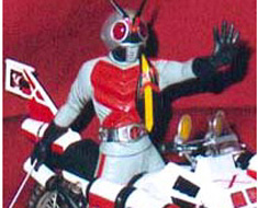 FG0128 1/12 Masked Rider X and Ridermachine