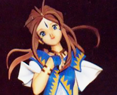 FG1715 1/6 Belldandy Sitting on Pillar
