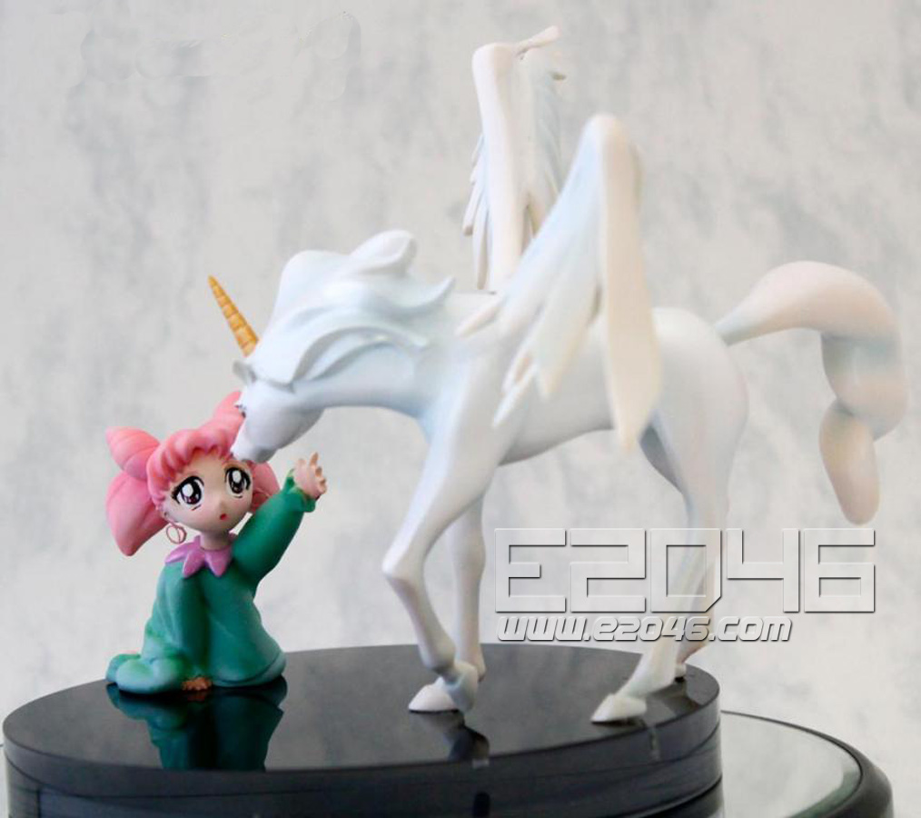 Chibiusa and Pegasus