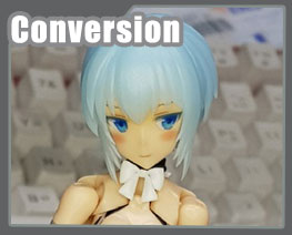 FG12575  Megami Device Maid Version Conversion Kit