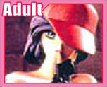 FG1099 1/5 有帽裸女