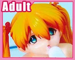 FG2462 1/8 Asuka with Ice-cream Nude Version