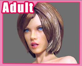 FG11200 1/6 Nude Girl