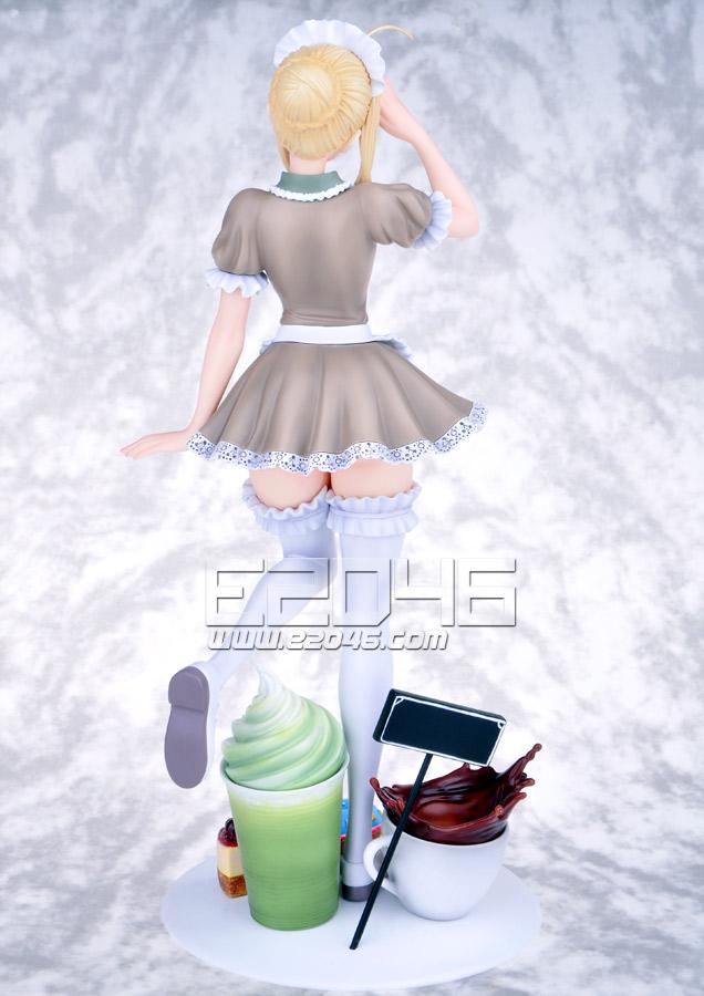 Saber Cafe Shop Maid