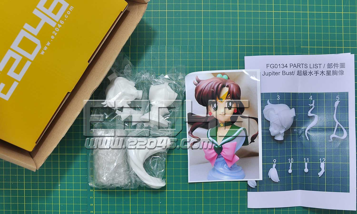 Super Sailor Jupiter Bust