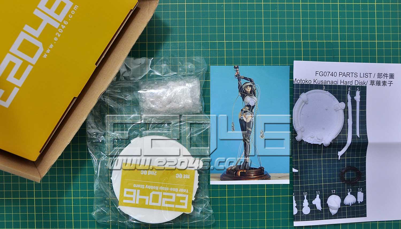 Motoko Kusanagi Hard Disk
