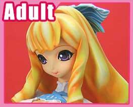 FG3719 1/4 粉藍服女孩