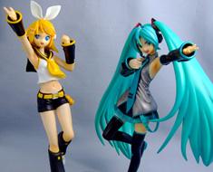 FG4504  Hatsune Miku and Kagamine Rin