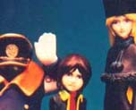 FG0591 1/12 Galaxy Express 999 Character Set in 3