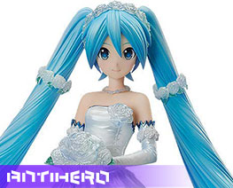 FG10972 1/7 Hatsune Miku Wedding Version