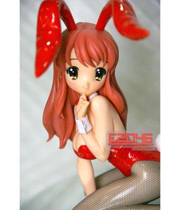 Bunny Mikuru Asahina Kneeling