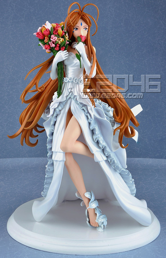 Belldandy with Wedding Dress
