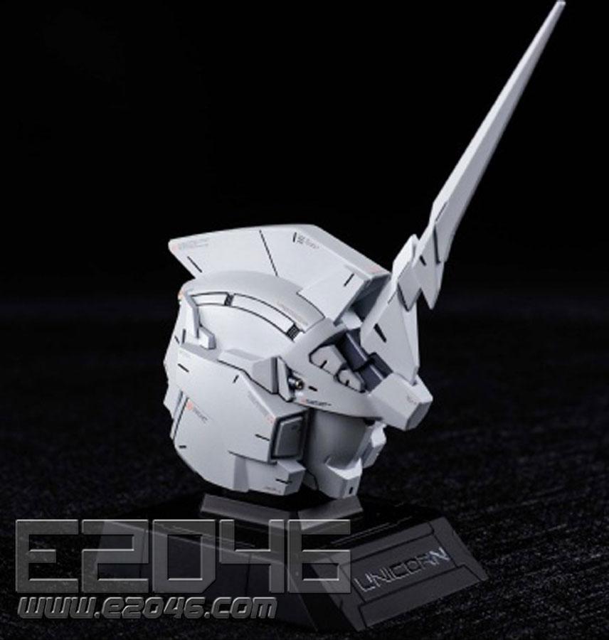 Unicorn Gundam Head Set