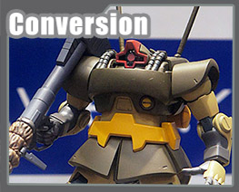 RT2020 1/144 MS-09G Dowadge Conversion Kit