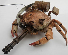 RT3288  Crab Tank Gatling Gun