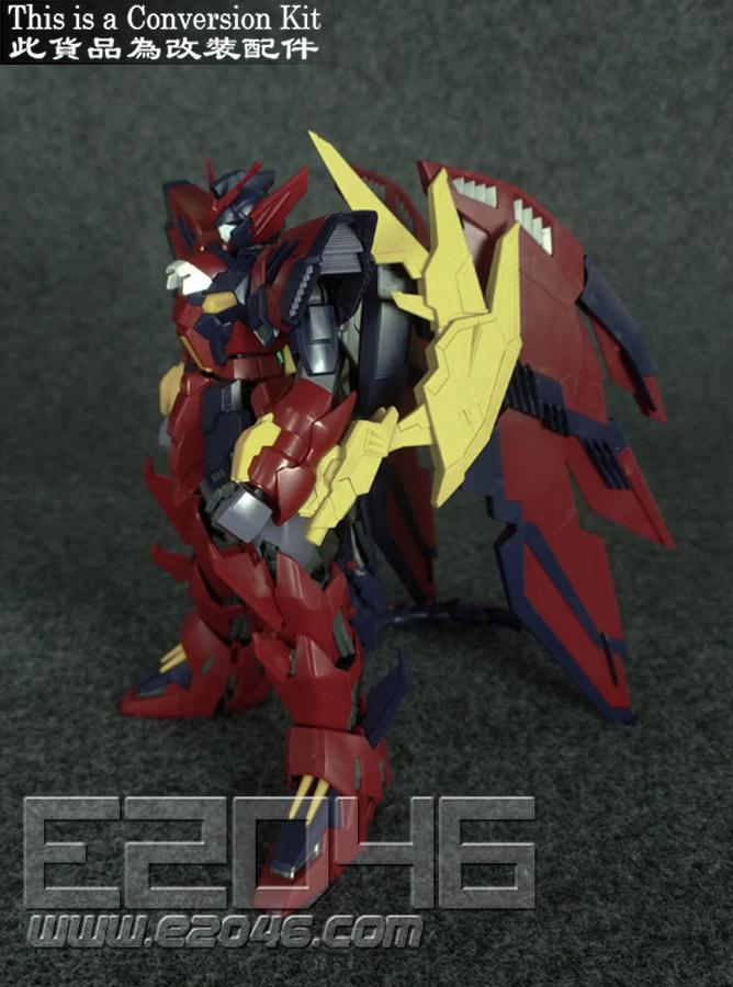 Gundam Epyon Sturm Und Drang Unpainted Conversion kits