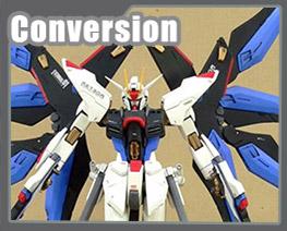 RT1495 1/100 Freedom Conversion Parts to MG Freedom Gundam
