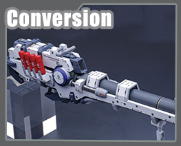 RT3680 1/144 Hyper MEGA Bazooka Launcher Comic Version