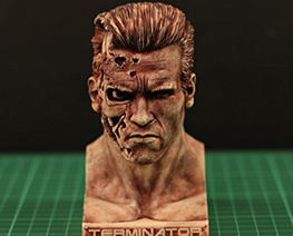 RT3460  The Terminator T-800 Bust