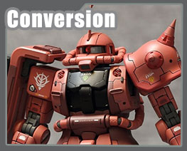 RT3252 1/100 Char's Zaku II Version Conversion Kit