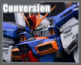 RT3505 1/100 ZZ Gundam Conversion Kit