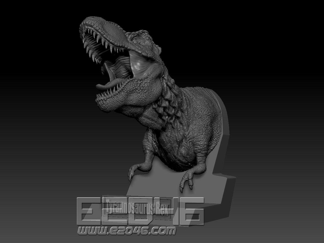 Tyrannosaurus Bust