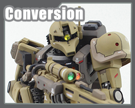 RT2887 1/100 Zaku Sniper Type Conversion Kit