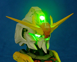 RT1569 1/35 LED MSZ-006 Bust
