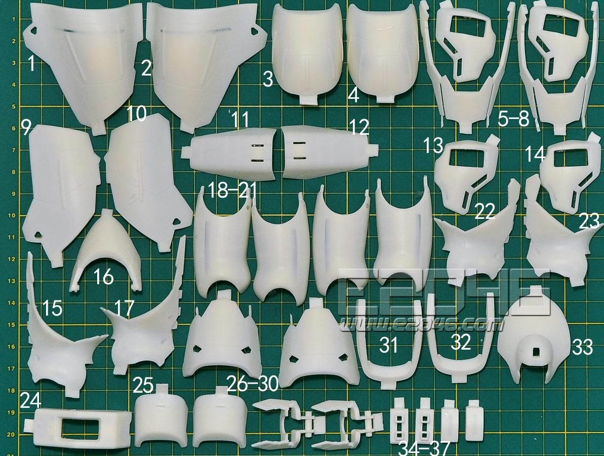 MSN-04 Sazabi Ver.Ka Conversion Parts