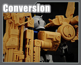 RT3300 1/60 Strike Gundam Launcher Pack Conversion Kit