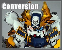 RT2478 SD Musha Vanguard Cross Armor Conversion Kits
