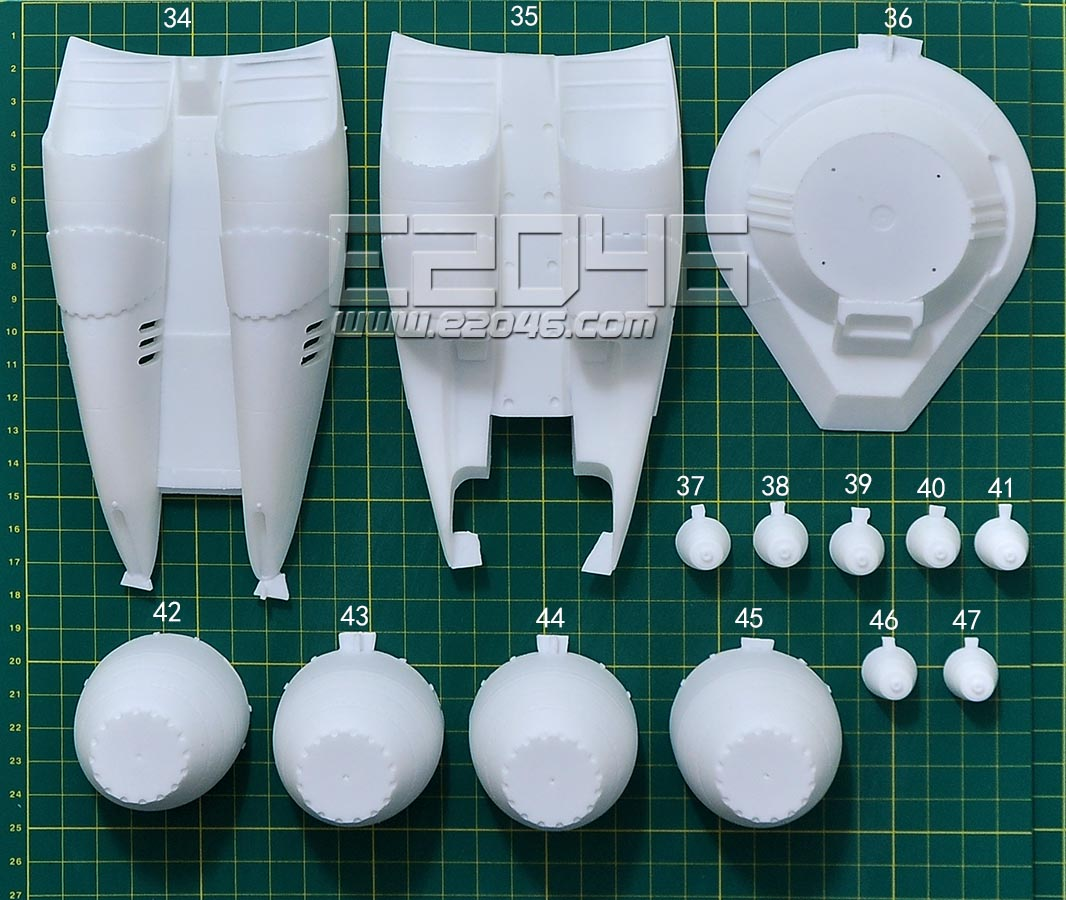 VF-1 Atmospheric Booster with Stand