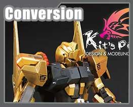 RT2834 1/100 MSN-00100 Hyaku-Shiki Ver.2.0 dressup kit