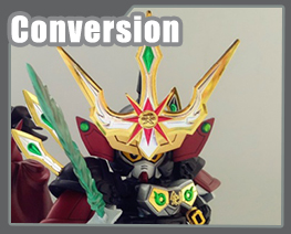 RT3591 SD SD Kensei Gundam Conversion Kit