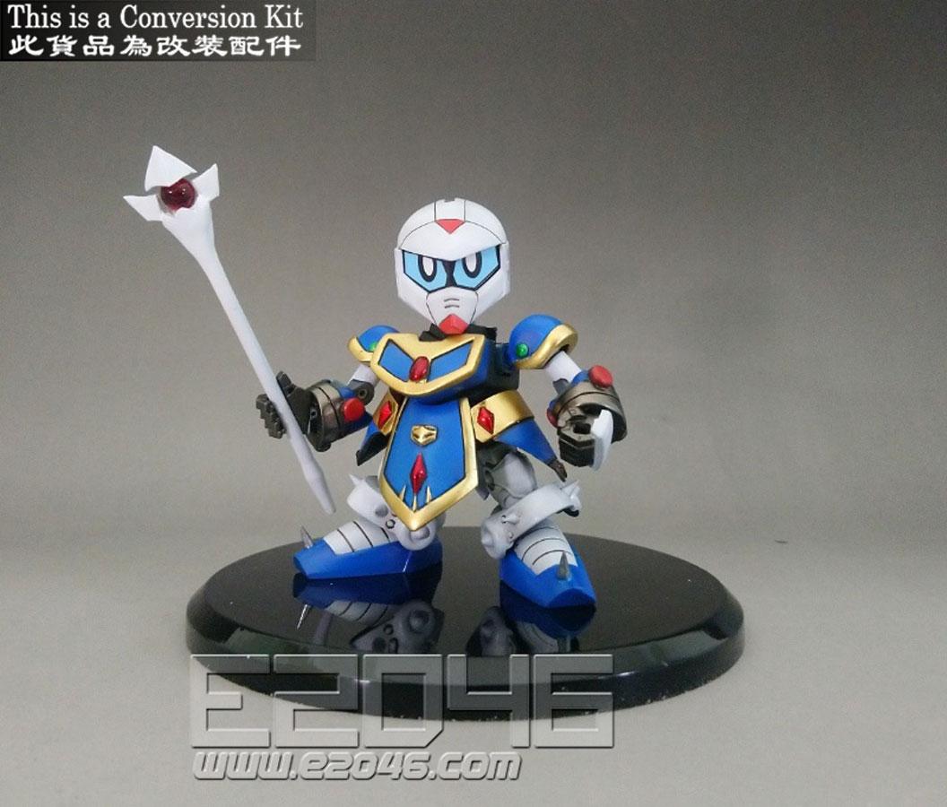 SD Gundam Wizard F90 Conversion Kit