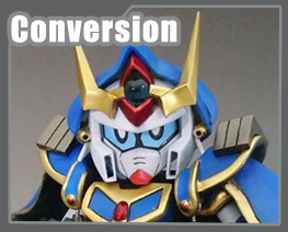 RT3640 SD SD Gundam Wizard F90 Conversion Kit